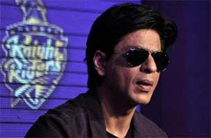 shahrukh khan in KKR