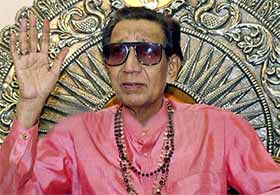Shiv Sena chief Bal Thackeray's death here Saturday