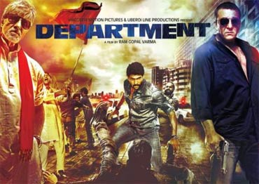 ram gopal varma's movie department