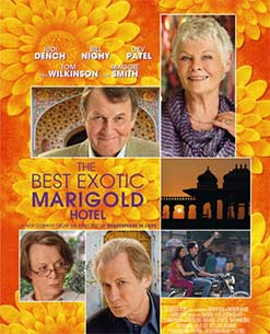 Hollywood movie The Best Of Exotic Marigold Hotel 2