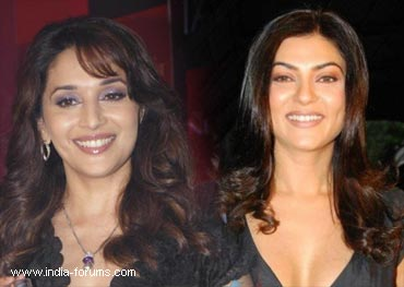 madhuri dixit and sushmita sen