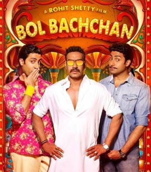 abhishek bachchan has wowed film fraternity with his rib-tickling performance in 'bol bachchan'