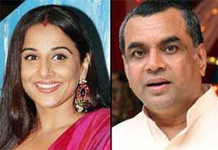 cidya balan and paresh rawal