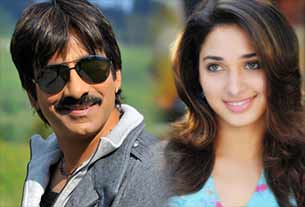 ravi teja and Tamannah Bhatia