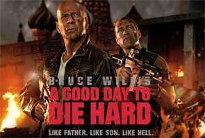 Movie review of A Good Day To Die Hard
