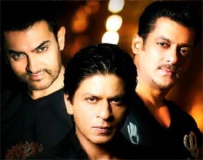 bollywood's three khan