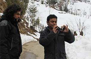 A R Rahman in Hindia highway movie