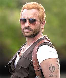 saif ali khan's new look