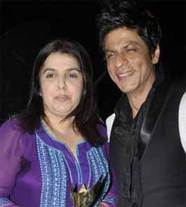 farah khan and shahrukh khan