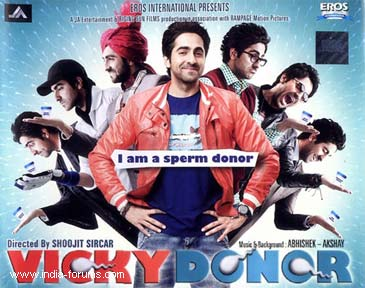 Movie review of vicky donor
