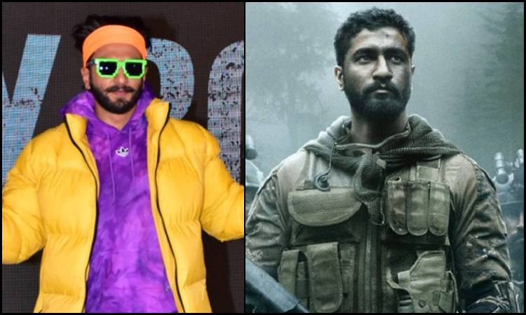 ranveer gives a shout out to uri