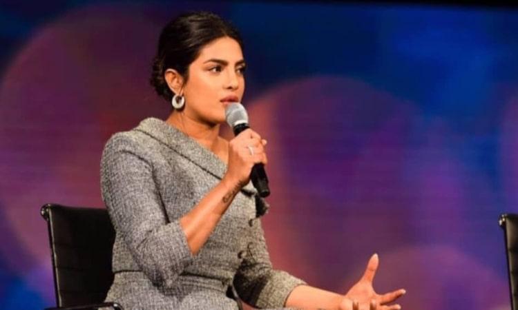 priyanka chopra speaks at women in world summit 2019