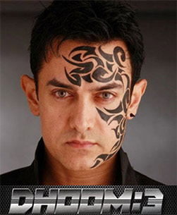 aamir khan in dhoom 3 movie