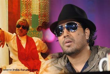 Singer mika singh has sung a peppy wedding song 'Kammo' for amitabh bachchan in department movie