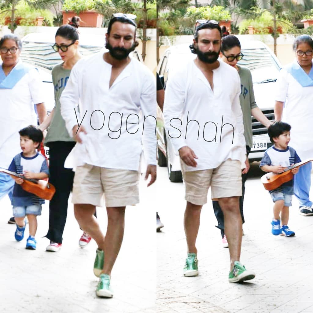 taimur with saif kareena