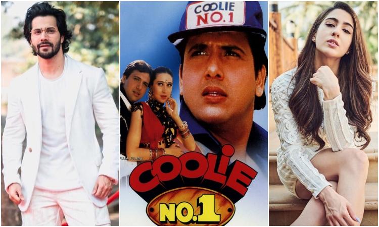 varun dhawan and sara ali khan to star in adaptation of coolie no. 1