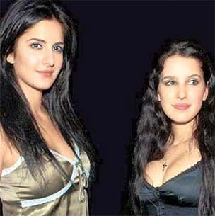 katrina kaif and her sister Isabel