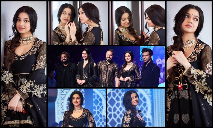 divya khosla kumar as a showstopper