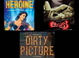 heroine, raaz 3 and the dirty picture