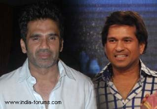 suniel shetty and sachin tendulkar
