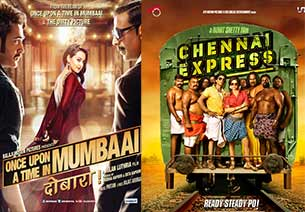 once upon ay time in mubaai dobaara and chennai express
