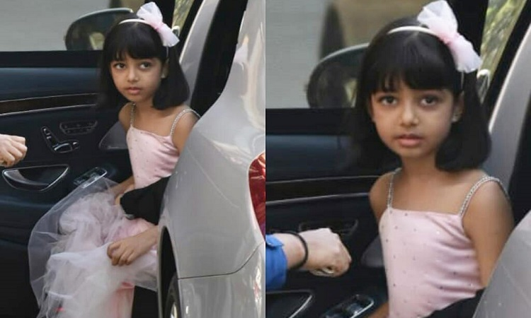 Aaradhya Bachchan Spotted In A PRINCESS Dress MINUS Mom Aishwarya