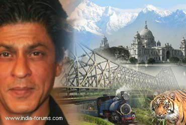 shah rukh khan will help boot West Bengal Tourism