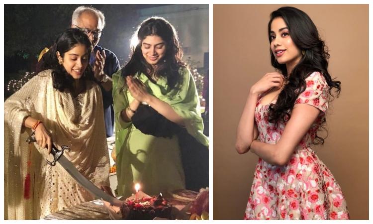 janhvi kapoor celebrates her 22nd birthday