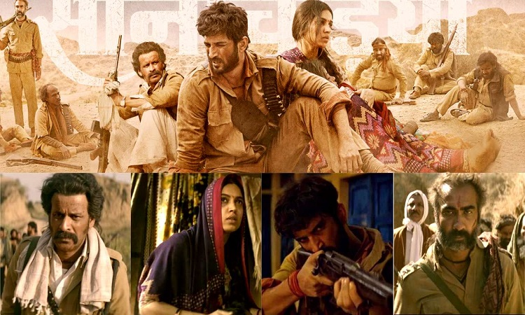 bollywood priases sonchiriya trailer