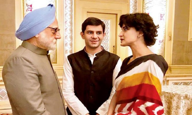 aahana in the accidental prime minister