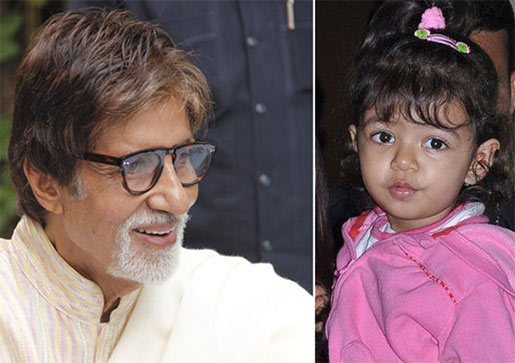 amitabh bachchan granddaughter Aaradhya