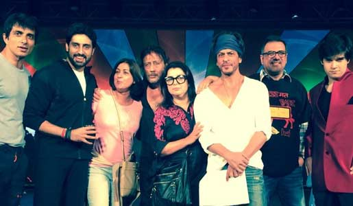 farah khan on HNY