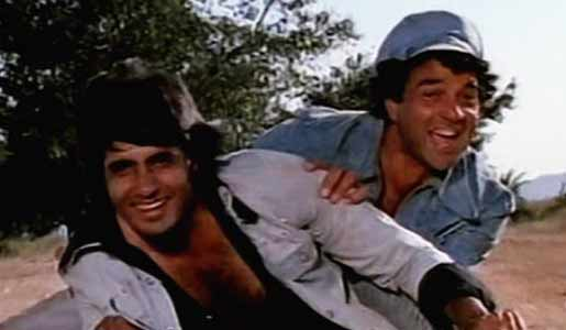 jai and veeru in sholay