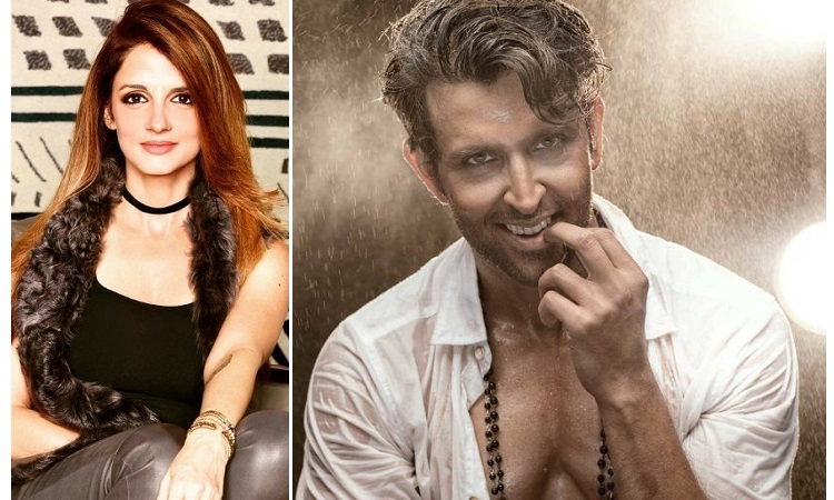 suzanne leaves a sweet comment on hrithik's post