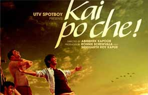 Movie review of kai po che