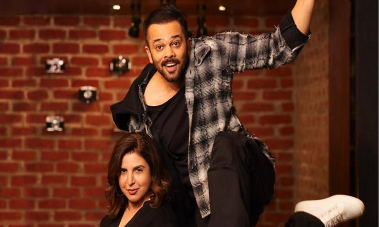 rohit and farah team up for a movie