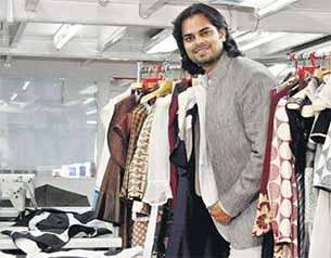 Fashion designer Rahul Mishra