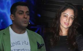 sandeepa dhar and salman khan