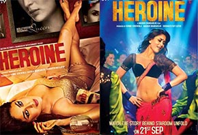 kareena kapoor in heroine movie's poster