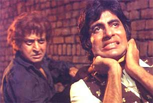 pran and amitabh bachchan