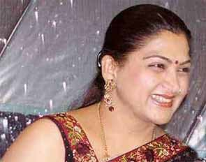 Actress and DMK member Khushboo