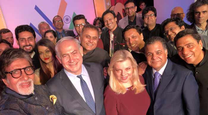 Netanyahu says Shalom to Bollywood