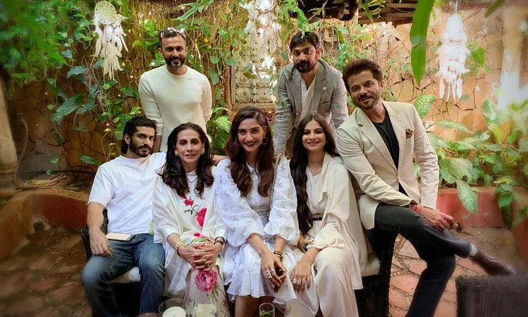 sonam kapoor and hubby anand ahuja make for a perfect family