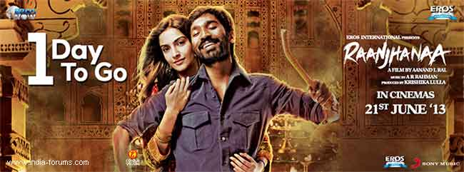movie raanjhanaa