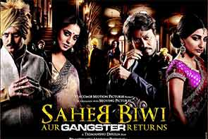 Movie Review of saheb bBiwi aur gangster returns