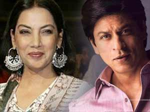 shabana azmi and Shahrukh Khan