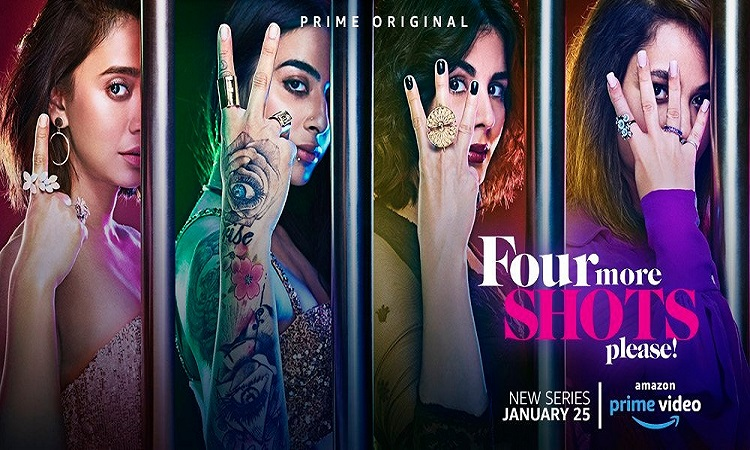 amazone prime releases title track of four more shots please