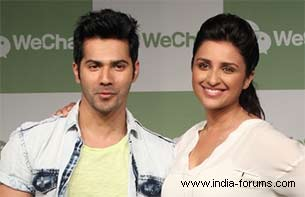 varun dhawan and parineeta chopra