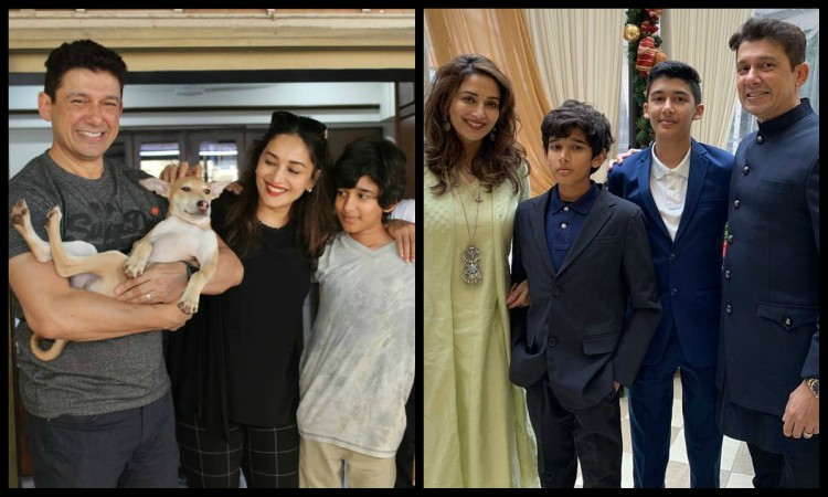 madhuri welcome a new family member