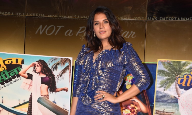 richa chadda at shakeela calendar launch